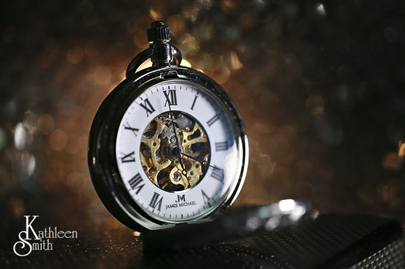 June wedding pocket watch