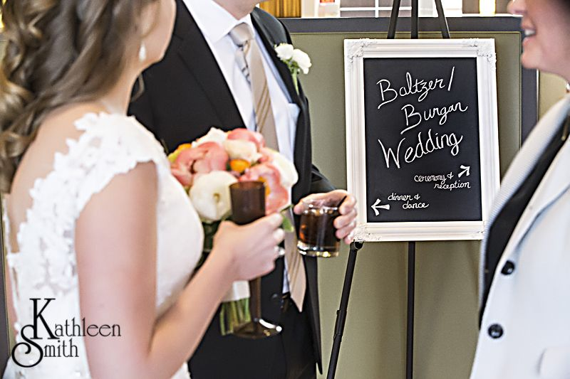 Wedding announcement board