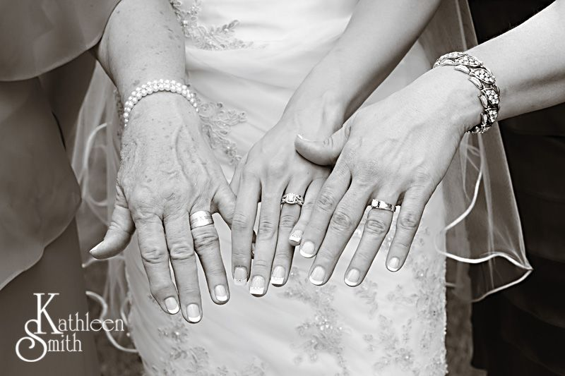 generation shot of wedding rings
